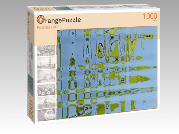 "Puzzle Motiv ""Frisches Grün"" - Puzzle-Schachtel zu 1000 Teile Puzzle"