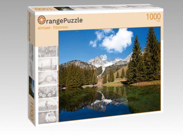 "Puzzle Motiv ""Almsee - Filzmoos"" - Puzzle-Schachtel zu 1000 Teile Puzzle"