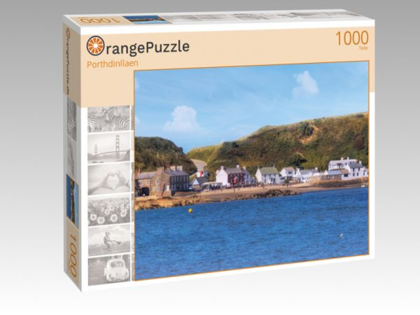 "Puzzle Motiv ""Porthdinllaen"" - Puzzle-Schachtel zu 1000 Teile Puzzle"