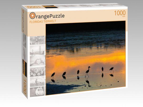 "Puzzle Motiv ""FLORIDAS TIERWELT"" - Puzzle-Schachtel zu 1000 Teile Puzzle"