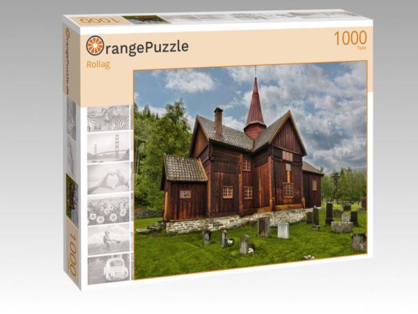 """Puzzle Motiv """"Rollag"""" - Puzzle-Schachtel zu 1000 Teile Puzzle"""