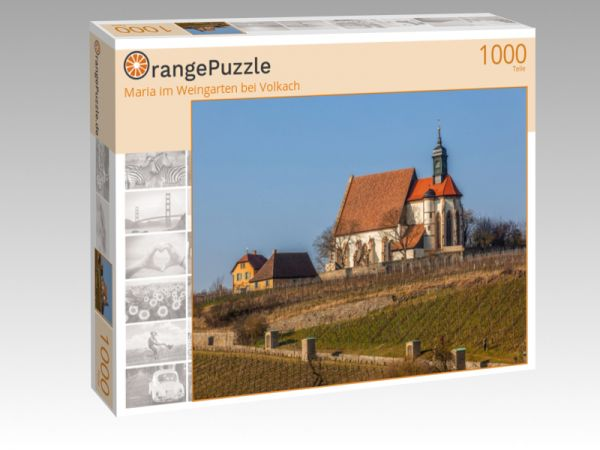 """Puzzle Motiv """"Maria im Weingarten bei Volkach"""" - Puzzle-Schachtel zu 1000 Teile Puzzle"""