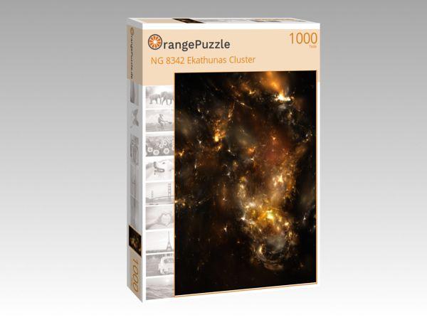 """Puzzle Motiv """"NG 8342 Ekathunas Cluster"""" - Puzzle-Schachtel zu 1000 Teile Puzzle"""