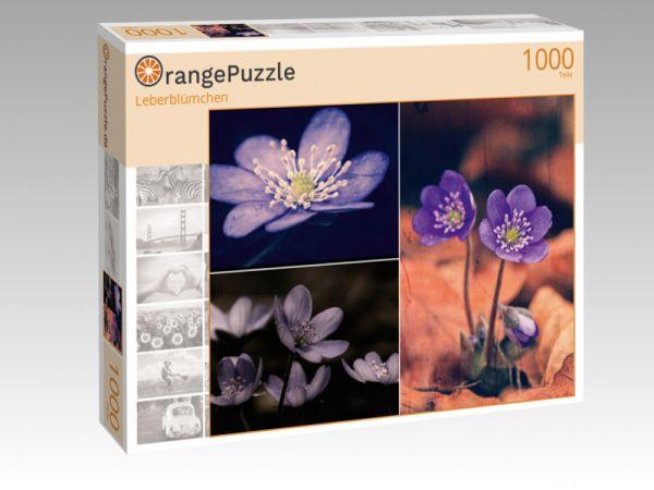 """Puzzle Motiv """"Leberblümchen"""" - Puzzle-Schachtel zu 1000 Teile Puzzle"""