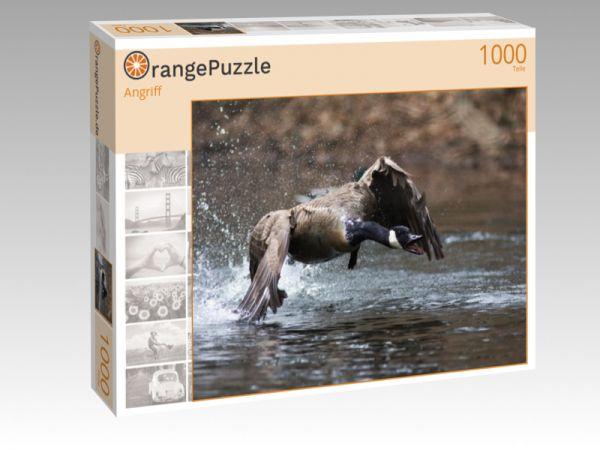 """Puzzle Motiv """"Angriff"""" - Puzzle-Schachtel zu 1000 Teile Puzzle"""