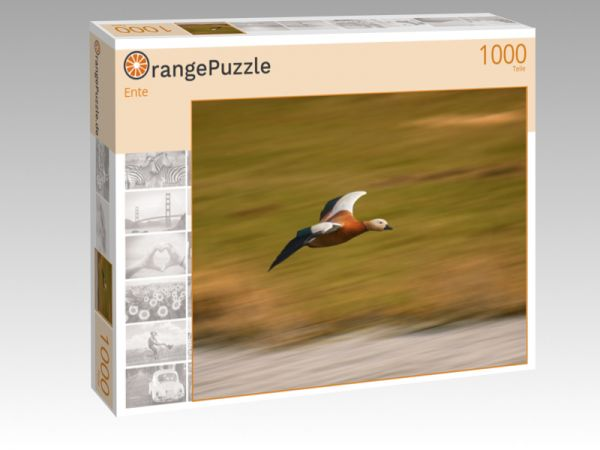 """Puzzle Motiv """"Ente"""" - Puzzle-Schachtel zu 1000 Teile Puzzle"""