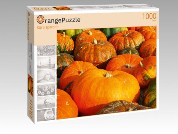 """Puzzle Motiv """"Kürbisparade"""" - Puzzle-Schachtel zu 1000 Teile Puzzle"""