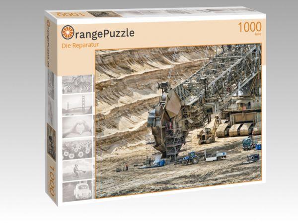 "Puzzle Motiv ""Die Reparatur"" - Puzzle-Schachtel zu 1000 Teile Puzzle"