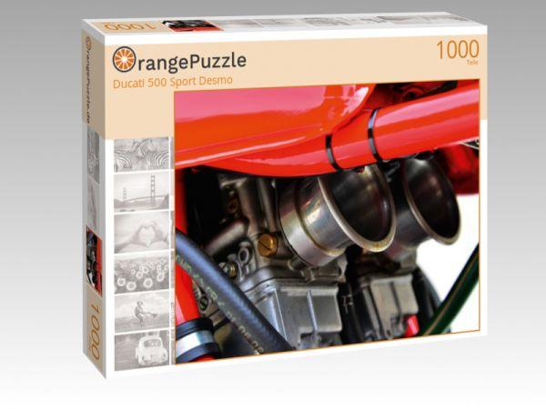 """Puzzle Motiv """"Ducati 500 Sport Desmo"""" - Puzzle-Schachtel zu 1000 Teile Puzzle"""