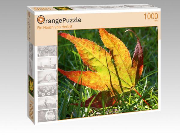 """Puzzle Motiv """"Ein Hauch von Herbst"""" - Puzzle-Schachtel zu 1000 Teile Puzzle"""