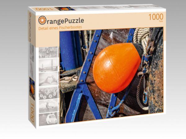 """Puzzle Motiv """"Detail eines Fischerbootes"""" - Puzzle-Schachtel zu 1000 Teile Puzzle"""