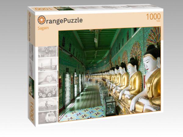 """Puzzle Motiv """"Sagain"""" - Puzzle-Schachtel zu 1000 Teile Puzzle"""