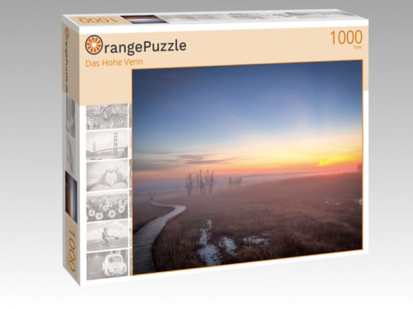 """Puzzle Motiv """"Das Hohe Venn"""" - Puzzle-Schachtel zu 1000 Teile Puzzle"""