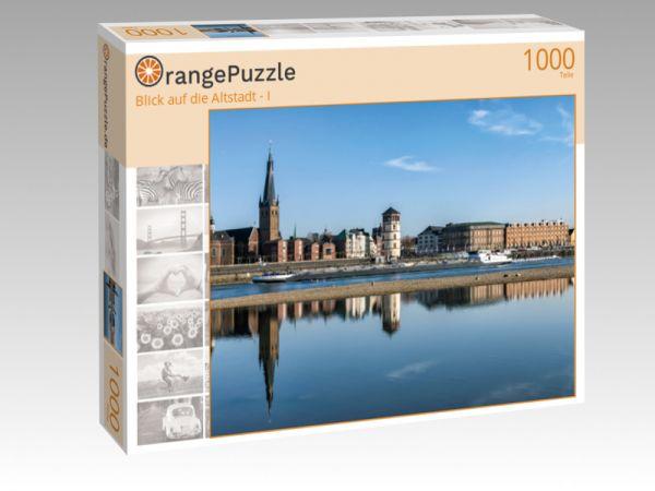 """Puzzle Motiv """"Blick auf die Altstadt - I"""" - Puzzle-Schachtel zu 1000 Teile Puzzle"""