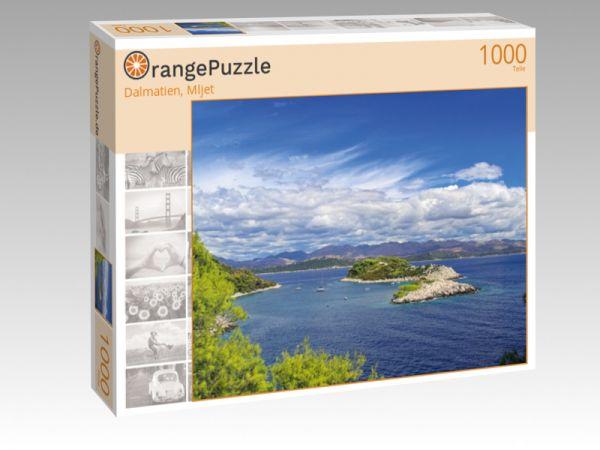 """Puzzle Motiv """"Dalmatien, Mljet"""" - Puzzle-Schachtel zu 1000 Teile Puzzle"""