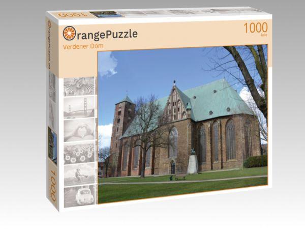 """Puzzle Motiv """"Verdener Dom"""" - Puzzle-Schachtel zu 1000 Teile Puzzle"""