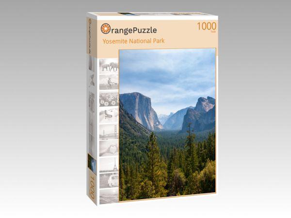 """Puzzle Motiv """"Yosemite National Park"""" - Puzzle-Schachtel zu 1000 Teile Puzzle"""