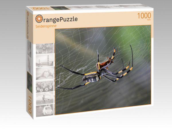 """Puzzle Motiv """"Seidenspinne"""" - Puzzle-Schachtel zu 1000 Teile Puzzle"""