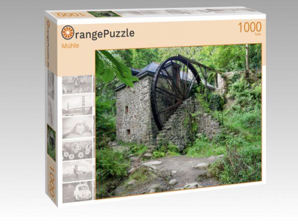 """Puzzle Motiv """"Mühle"""" - Puzzle-Schachtel zu 1000 Teile Puzzle"""