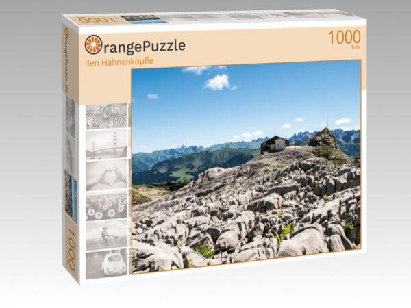 "Puzzle Motiv ""Ifen Hahnenköpfle"" - Puzzle-Schachtel zu 1000 Teile Puzzle"