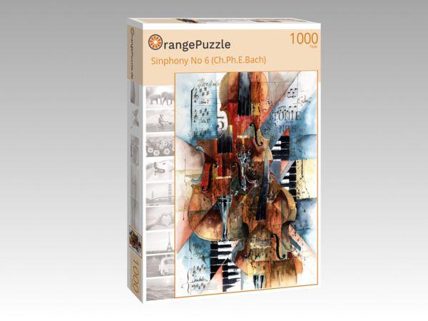 """Puzzle Motiv """"Sinphony No 6 (Ch.Ph.E.Bach)"""" - Puzzle-Schachtel zu 1000 Teile Puzzle"""