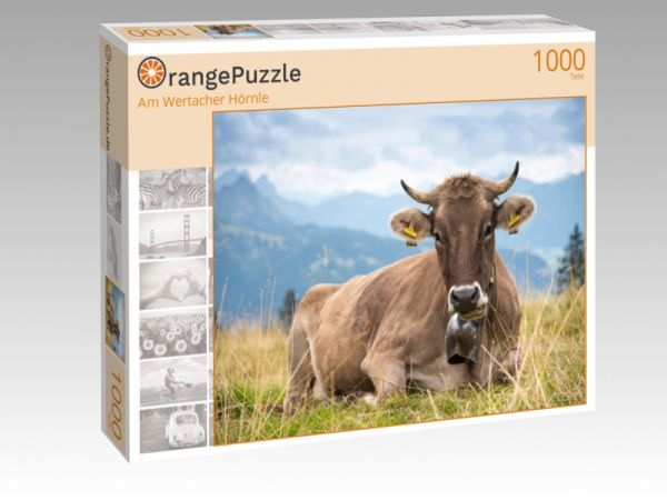 "Puzzle Motiv ""Am Wertacher Hörnle"" - Puzzle-Schachtel zu 1000 Teile Puzzle"