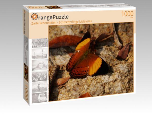 """Puzzle Motiv """"Zarte Schönheiten - Schmetterlinge Malaysias"""" - Puzzle-Schachtel zu 1000 Teile Puzzle"""