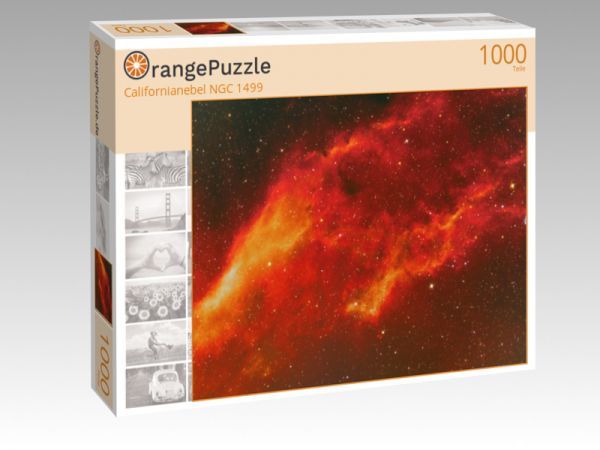 """Puzzle Motiv """"Californianebel NGC 1499"""" - Puzzle-Schachtel zu 1000 Teile Puzzle"""