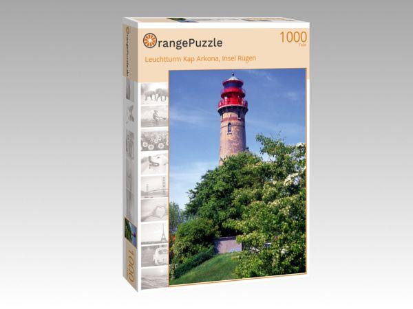 """Puzzle Motiv """"Leuchtturm Kap Arkona, Insel Rügen"""" - Puzzle-Schachtel zu 1000 Teile Puzzle"""