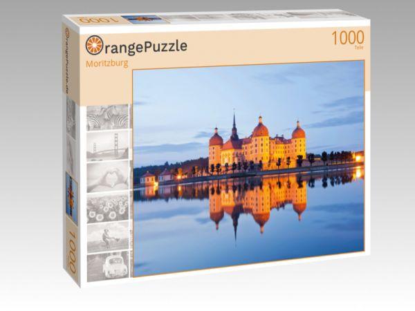 """Puzzle Motiv """"Moritzburg"""" - Puzzle-Schachtel zu 1000 Teile Puzzle"""