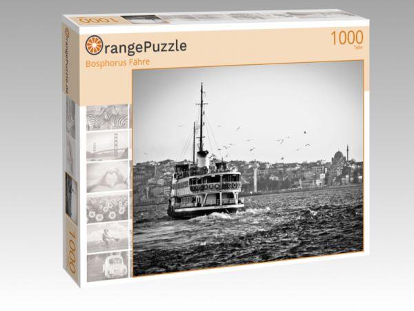 """Puzzle Motiv """"Bosphorus Fähre"""" - Puzzle-Schachtel zu 1000 Teile Puzzle"""