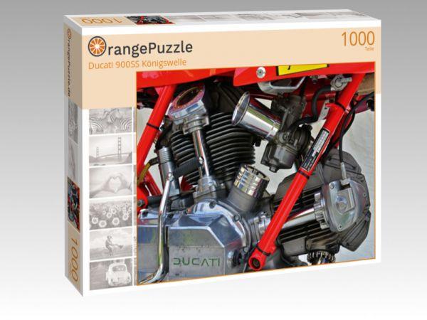 """Puzzle Motiv """"Ducati 900SS Königswelle"""" - Puzzle-Schachtel zu 1000 Teile Puzzle"""