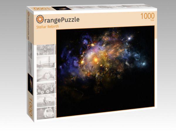 """Puzzle Motiv """"Stellar Rebirth"""" - Puzzle-Schachtel zu 1000 Teile Puzzle"""