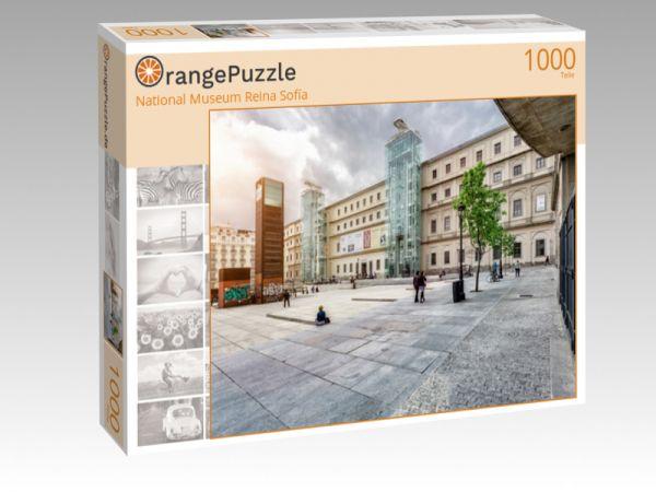 """Puzzle Motiv """"National Museum Reina Sofía"""" - Puzzle-Schachtel zu 1000 Teile Puzzle"""