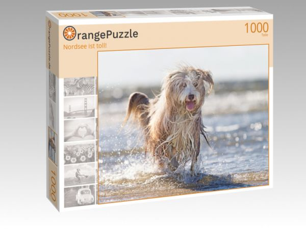 "Puzzle Motiv ""Nordsee ist toll!"" - Puzzle-Schachtel zu 1000 Teile Puzzle"