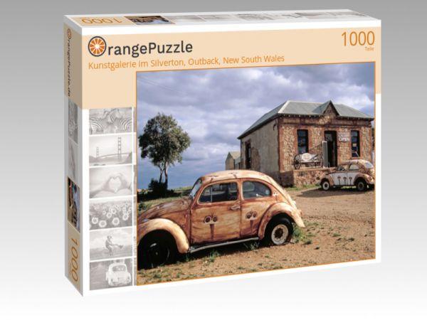 """Puzzle Motiv """"Kunstgalerie im Silverton, Outback, New South Wales"""" - Puzzle-Schachtel zu 1000 Teile Puzzle"""
