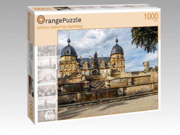 "Puzzle Motiv ""Schloss Seehof bei Bamberg"" - Puzzle-Schachtel zu 1000 Teile Puzzle"