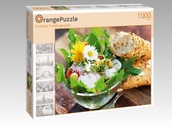 """Puzzle Motiv """"Frischer Frühlingssalat"""" - Puzzle-Schachtel zu 1000 Teile Puzzle"""