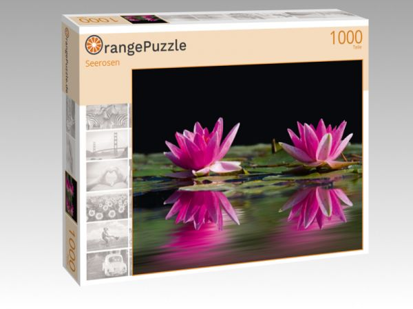 "Puzzle Motiv ""Seerosen"" - Puzzle-Schachtel zu 1000 Teile Puzzle"