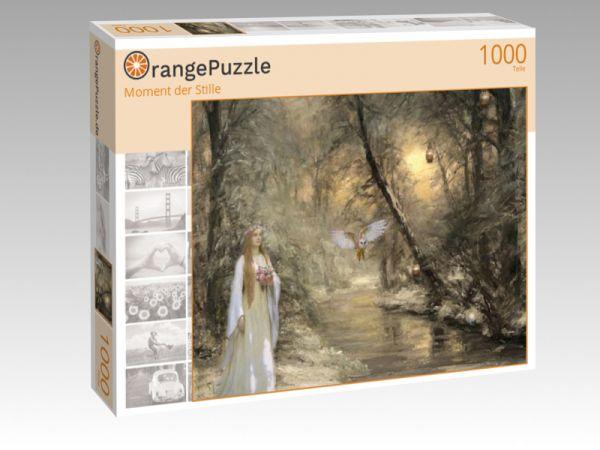"""Puzzle Motiv """"Moment der Stille"""" - Puzzle-Schachtel zu 1000 Teile Puzzle"""