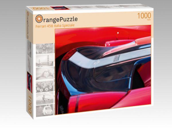 """Puzzle Motiv """"Ferrari 458 Italia Speciale"""" - Puzzle-Schachtel zu 1000 Teile Puzzle"""