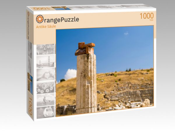 """Puzzle Motiv """"Antike Säule"""" - Puzzle-Schachtel zu 1000 Teile Puzzle"""