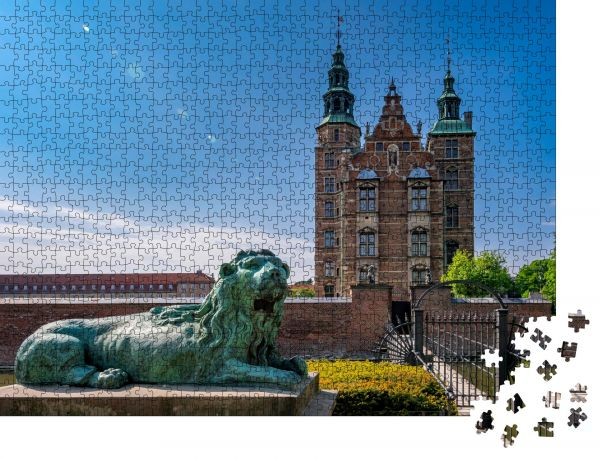 "Puzzle-Motiv ""Schloss Rosenborg"" - Puzzle-Schachtel zu 1000 Teile Puzzle"