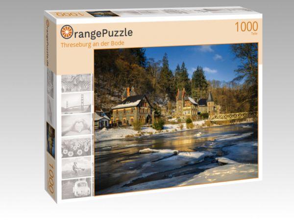 """Puzzle Motiv """"Threseburg an der Bode"""" - Puzzle-Schachtel zu 1000 Teile Puzzle"""