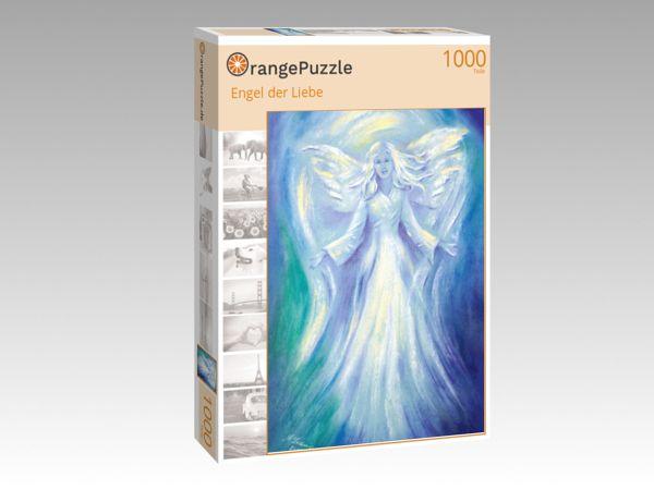 """Puzzle Motiv """"Engel der Liebe"""" - Puzzle-Schachtel zu 1000 Teile Puzzle"""