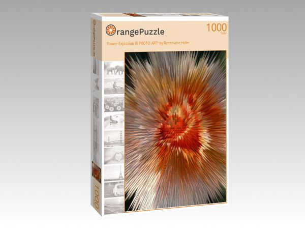 "Puzzle Motiv ""Flower Explosion III PHOTO ART° by Rosemarie Hofer"" - Puzzle-Schachtel zu 1000 Teile Puzzle"