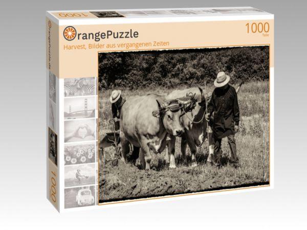 """Puzzle Motiv """"Harvest, Bilder aus vergangenen Zeiten"""" - Puzzle-Schachtel zu 1000 Teile Puzzle"""