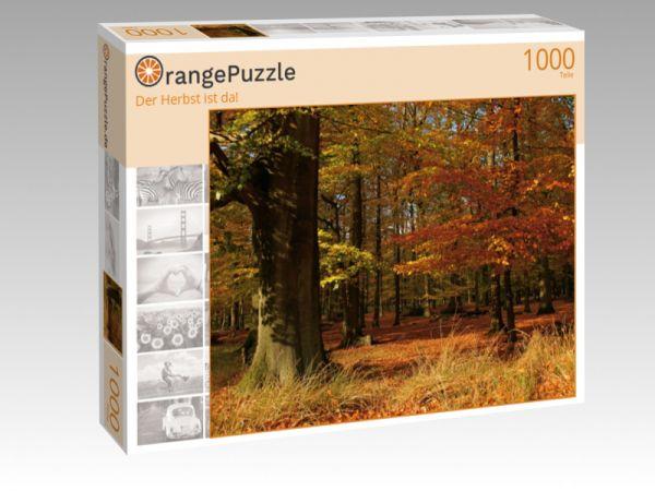 """Puzzle Motiv """"Der Herbst ist da!"""" - Puzzle-Schachtel zu 1000 Teile Puzzle"""