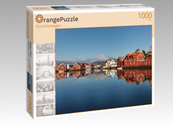 """Puzzle Motiv """"Fjord Norwegen"""" - Puzzle-Schachtel zu 1000 Teile Puzzle"""