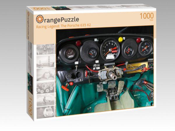 """Puzzle Motiv """"Racing Legend: The Porsche 635 K2"""" - Puzzle-Schachtel zu 1000 Teile Puzzle"""